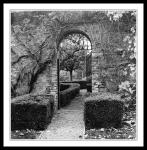 gates into walled garden in farmleigh
