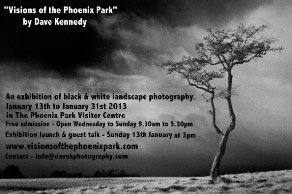 Phoenix Park Exhibition Invite